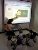 Usando o datashow na aula